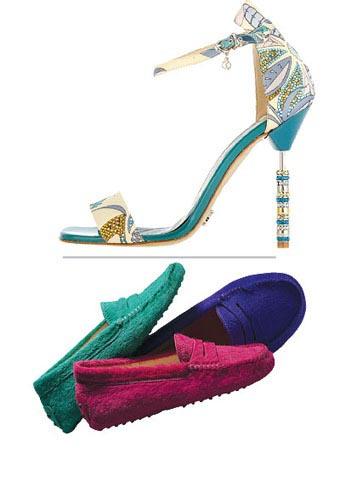 ربيع وصيف 2015  ألوان شهية بأناقة إيطالية أحذية