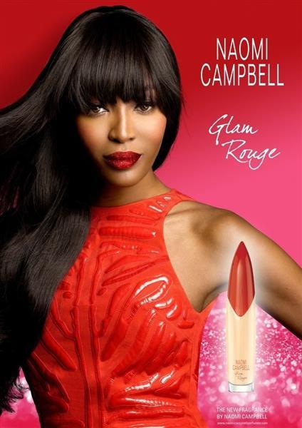 8fe73e2ed تطللق عارضة الأزياء الشهيرة نعومي كامبل عطرها الجديد Glam Rouge لربيع 2018  مستوحى من أسلوب الحياة الساحر واللون الأحمر الذي يرمز للعاطفة والشخصية  المتحمسة.