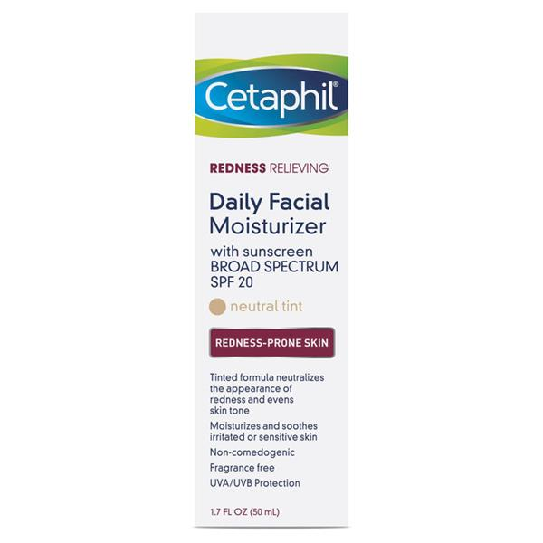 - مرطب Cetaphil Redness Relieving Daily Moisturize