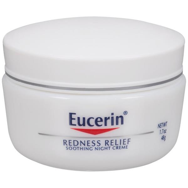 - كريم Eucerin Redness Relief Night Cream