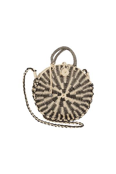 - حقيبة ماركة Billabong Soak It Up Straw Crossbody